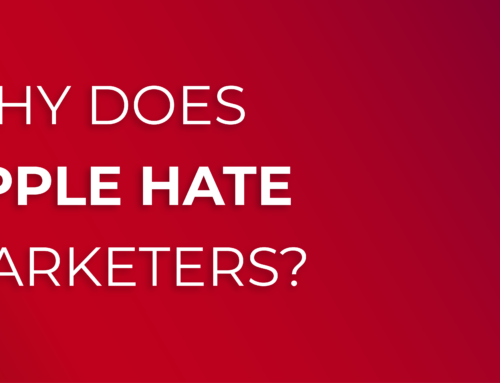 Why Does Apple Hate Marketers?